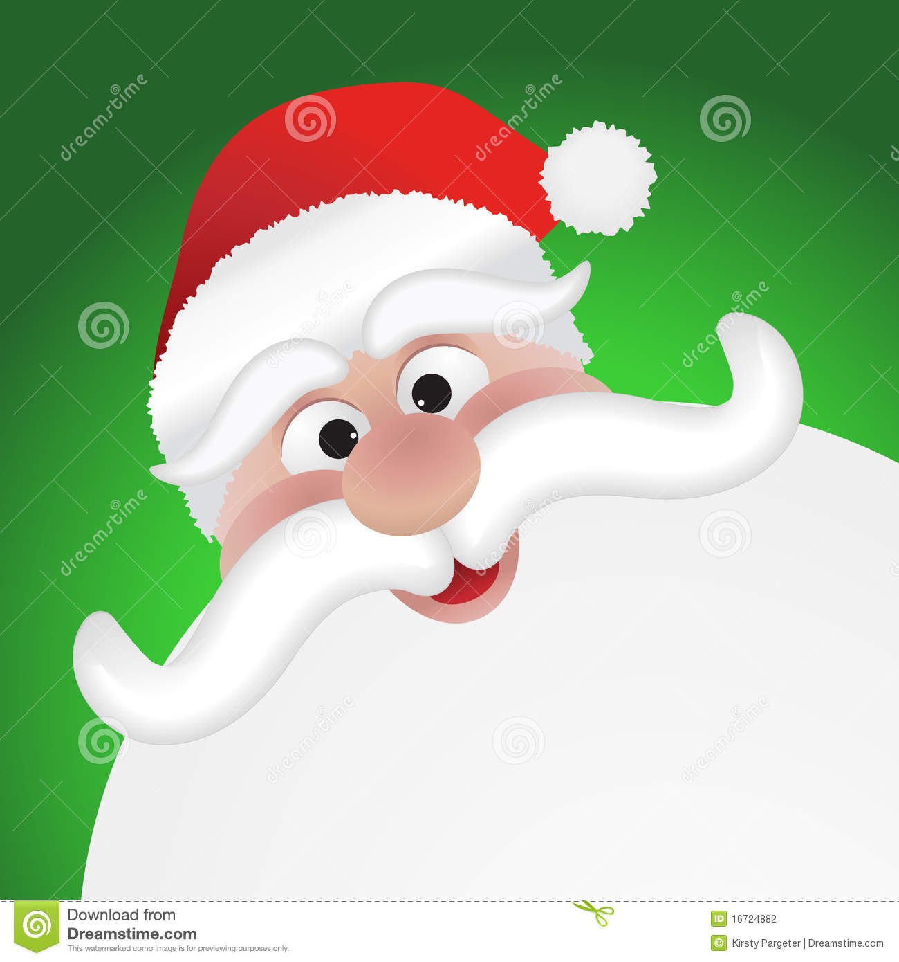 Santas Face Stock Photography - Image: 16724882