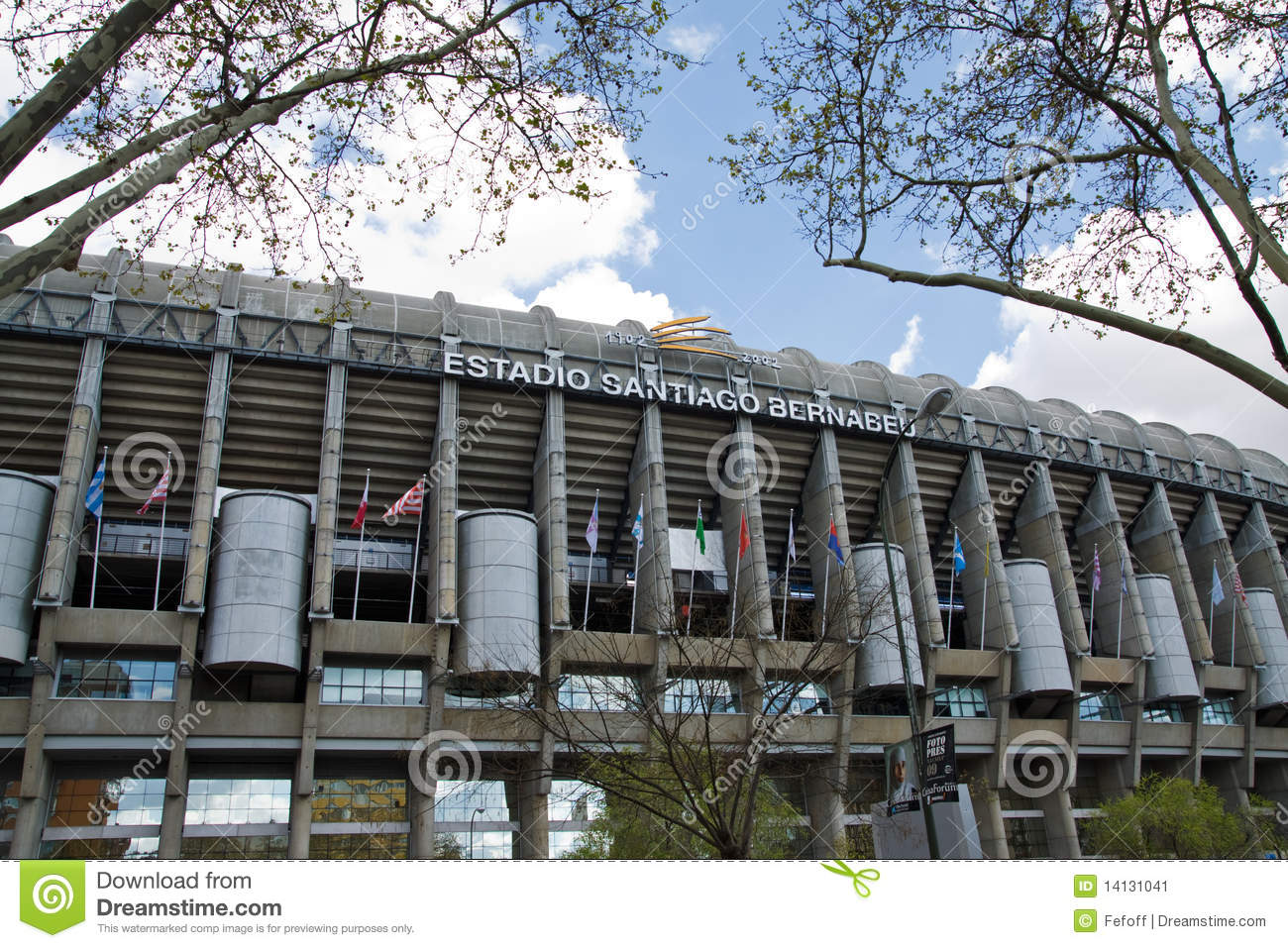 Santiago Bernabeu Editorial Photo