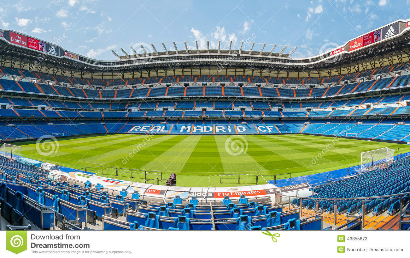 Santiago bernabeu stadium editorial stock photo image of for Puerta 6 santiago bernabeu
