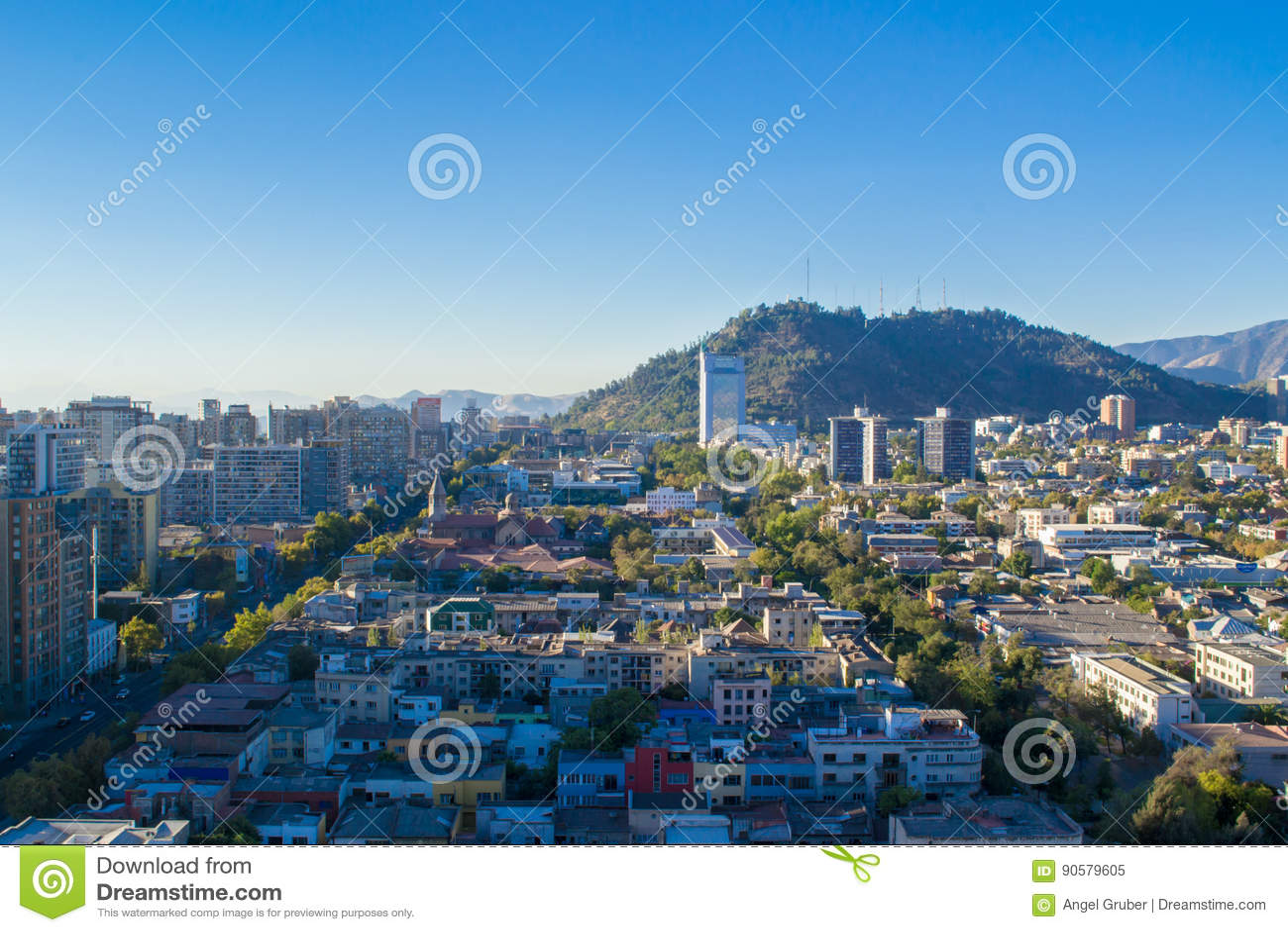 Santiago city in Chile