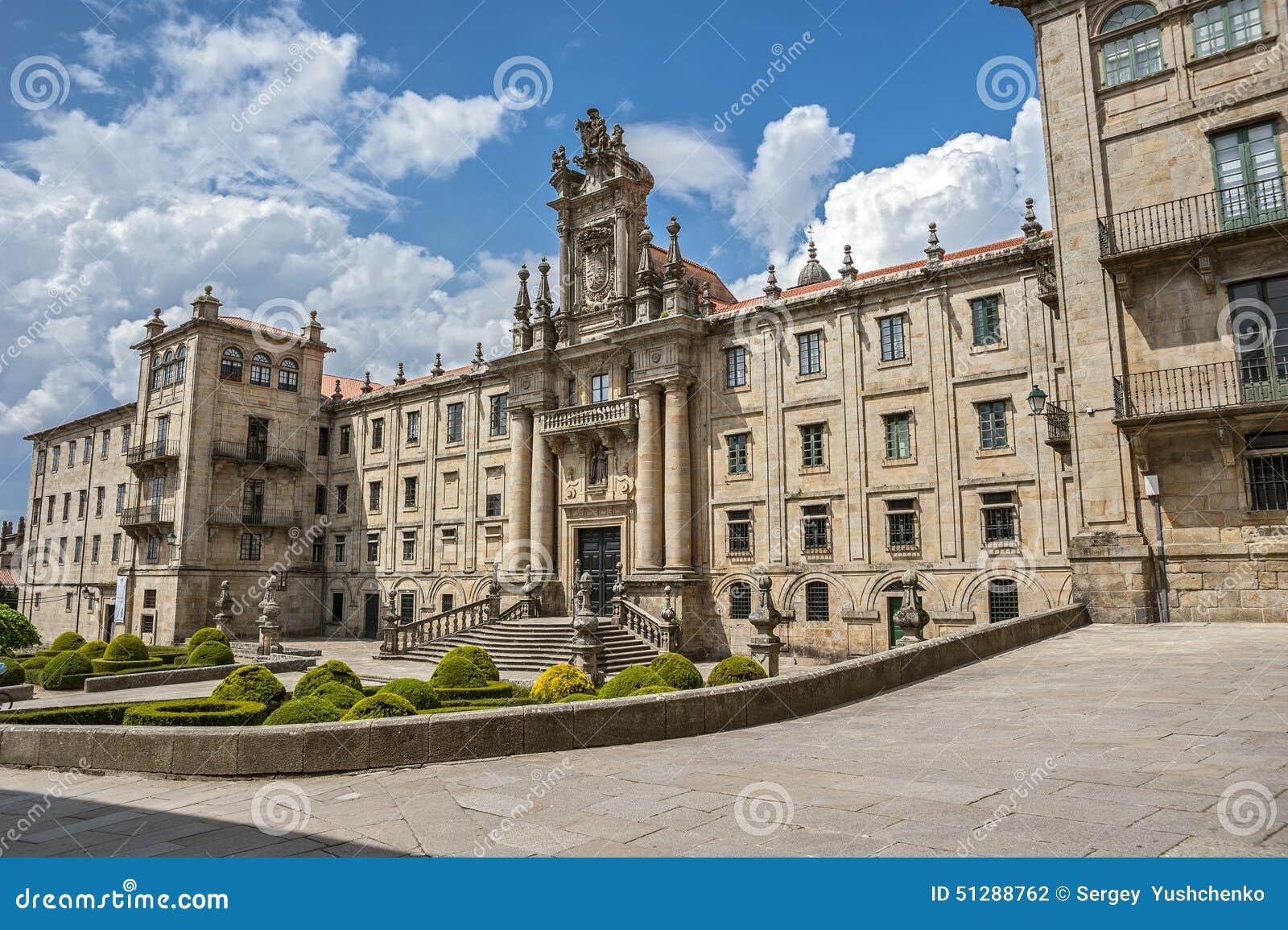 Santiago de Compostela, Испания Монастырь St Martin Pinario