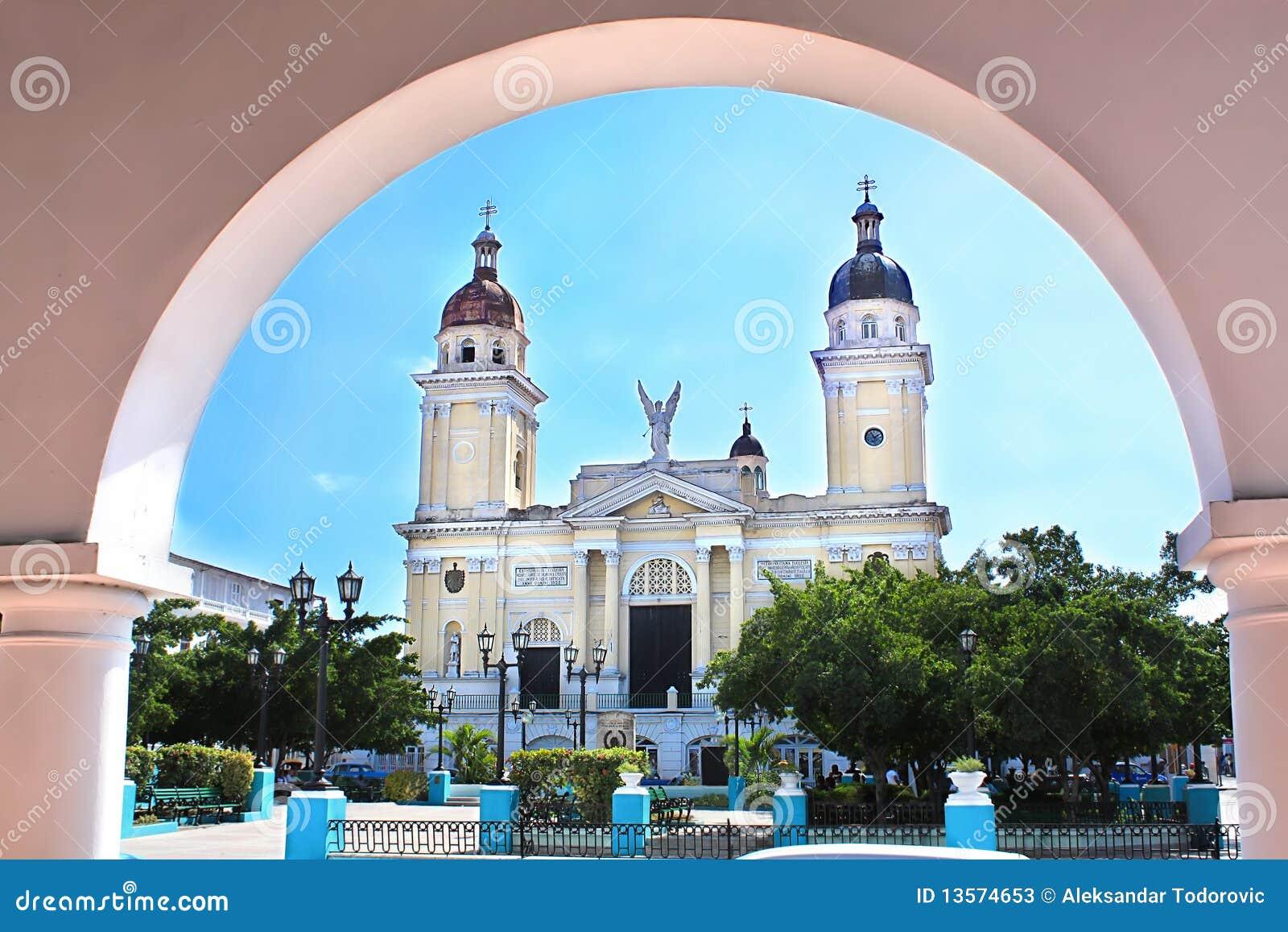 Santiago de Cuba的大教堂