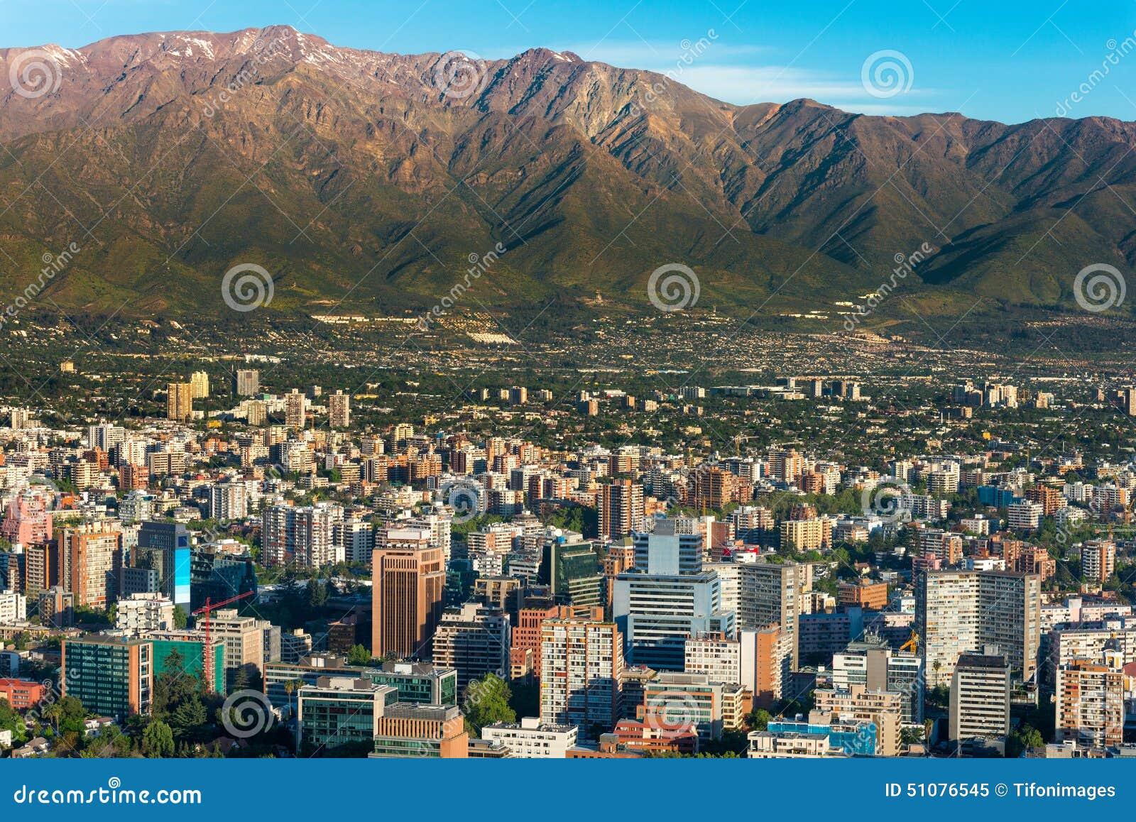 Santiago faz o Chile