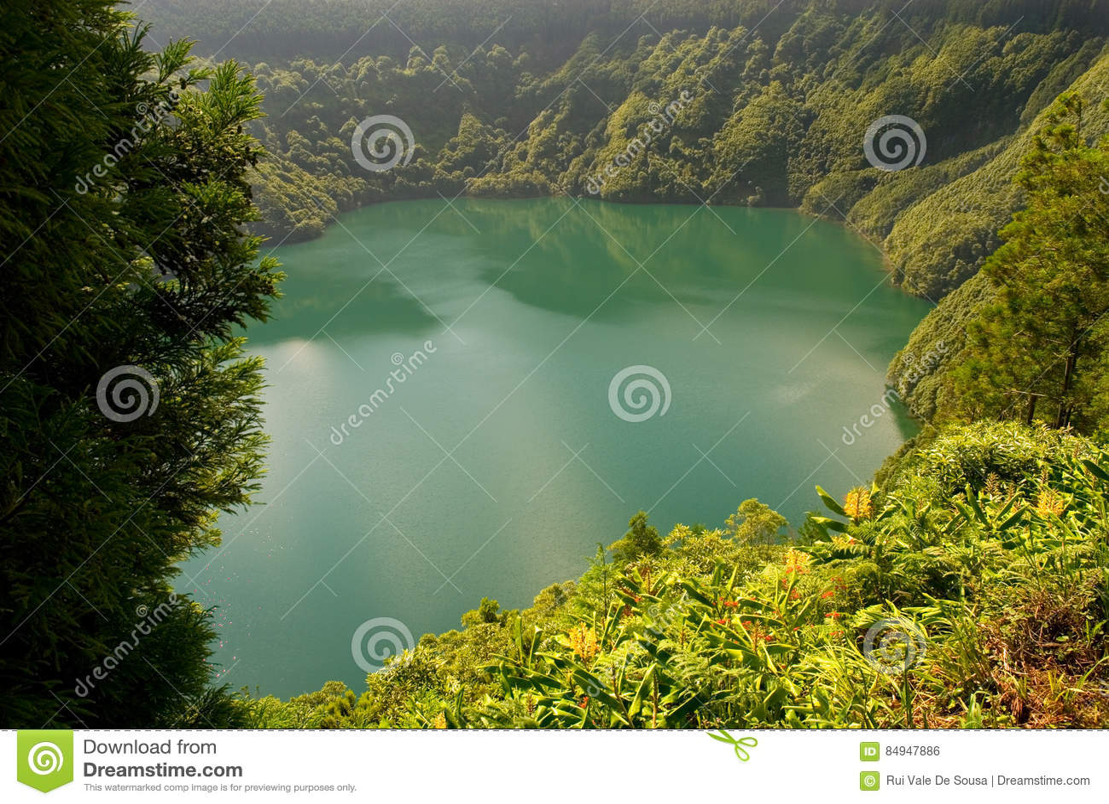 Santiago lake