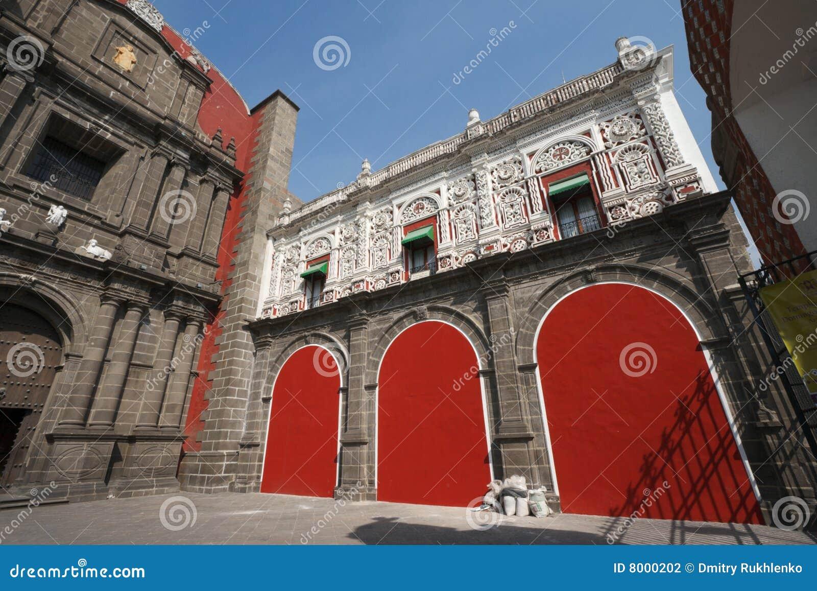 Santo Пуэбло domingo Мексики церков
