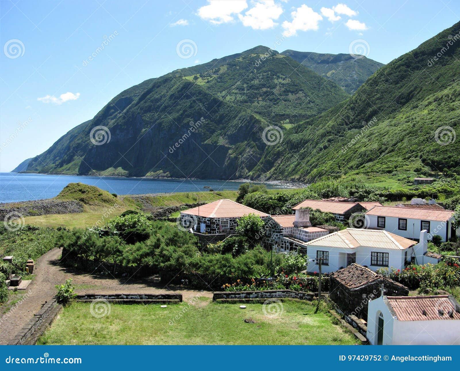Santo Cristo, Sao Jorge wyspa Azores