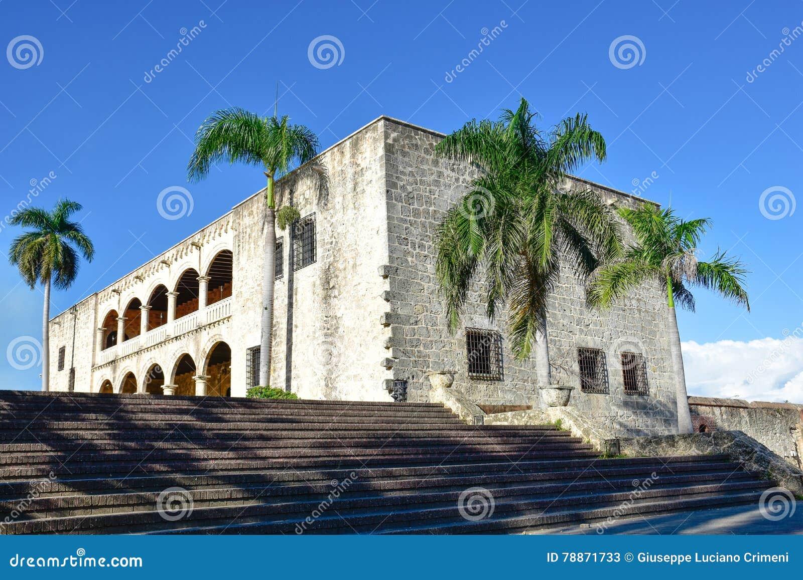 Santo Domingo, Dominican Republic. Alcazar De Colon (Diego