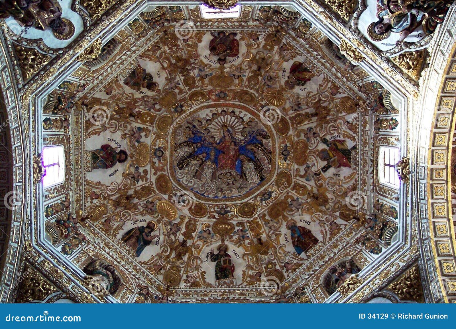 Santo- Domingokirche-Innenraum