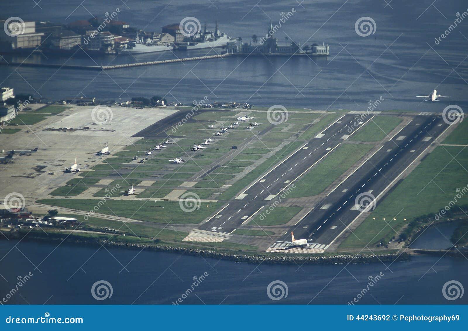 A >> Santo Dumont Airport, Rio De Janeiro. Stock Photo - Image: 44243692