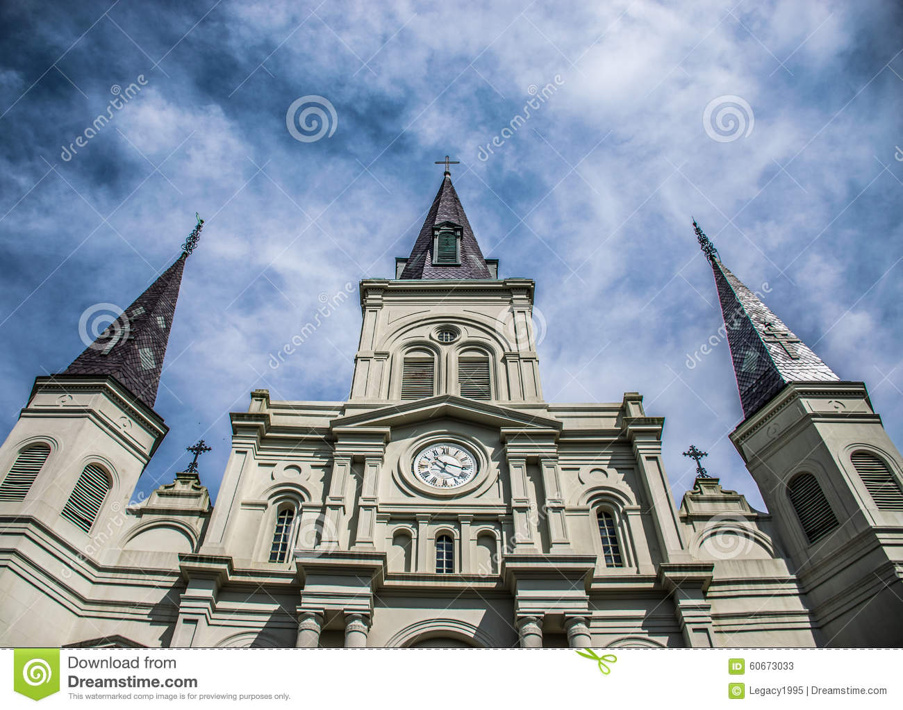 Santo Louis Cathedral French Quarter de New Orleans