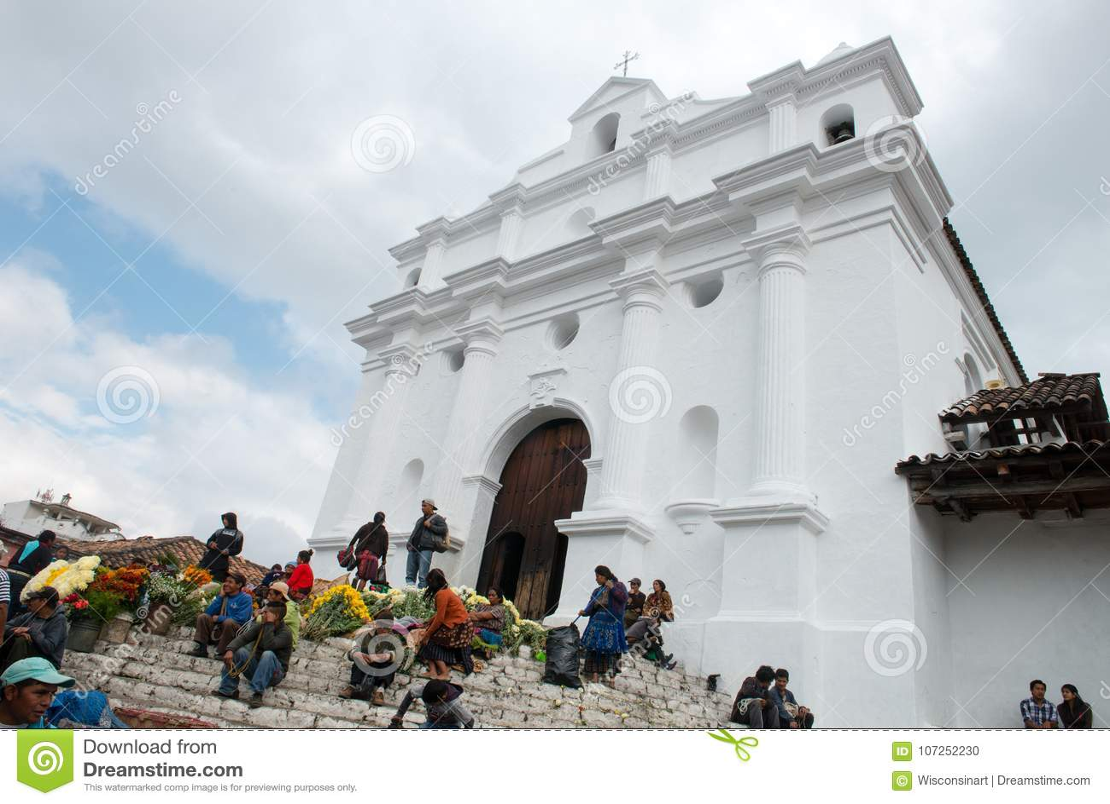 Santo Tomas Church, curso de Guattemala, Chichicastenengo