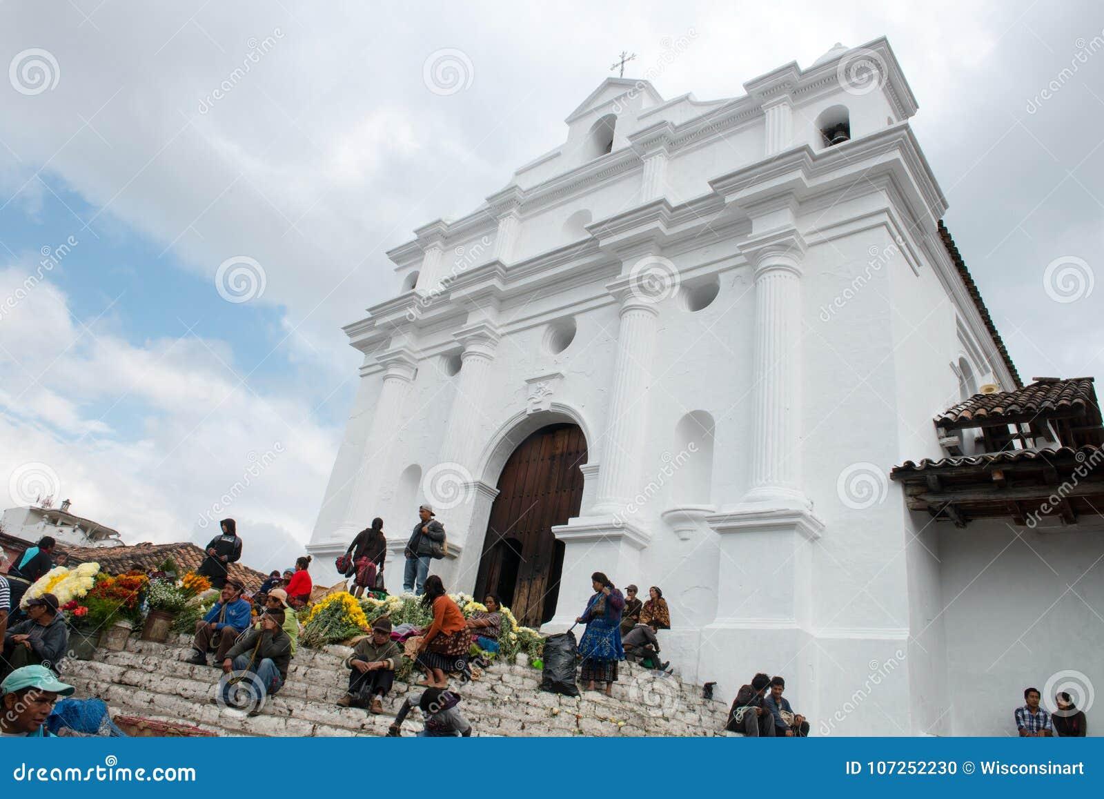 Santo Tomas kościół, Guattemala podróż, Chichicastenengo
