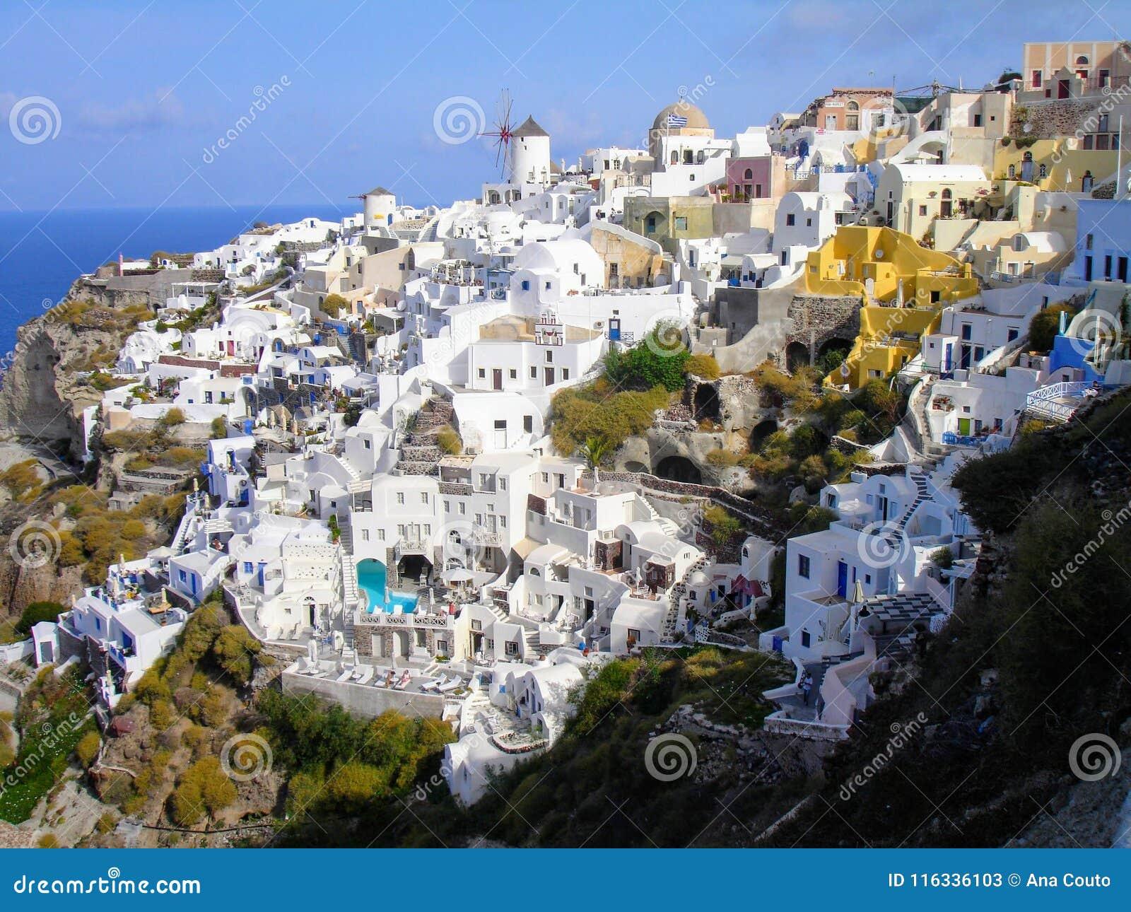 Santorini, één van het meest bezochte Eiland Griekenland