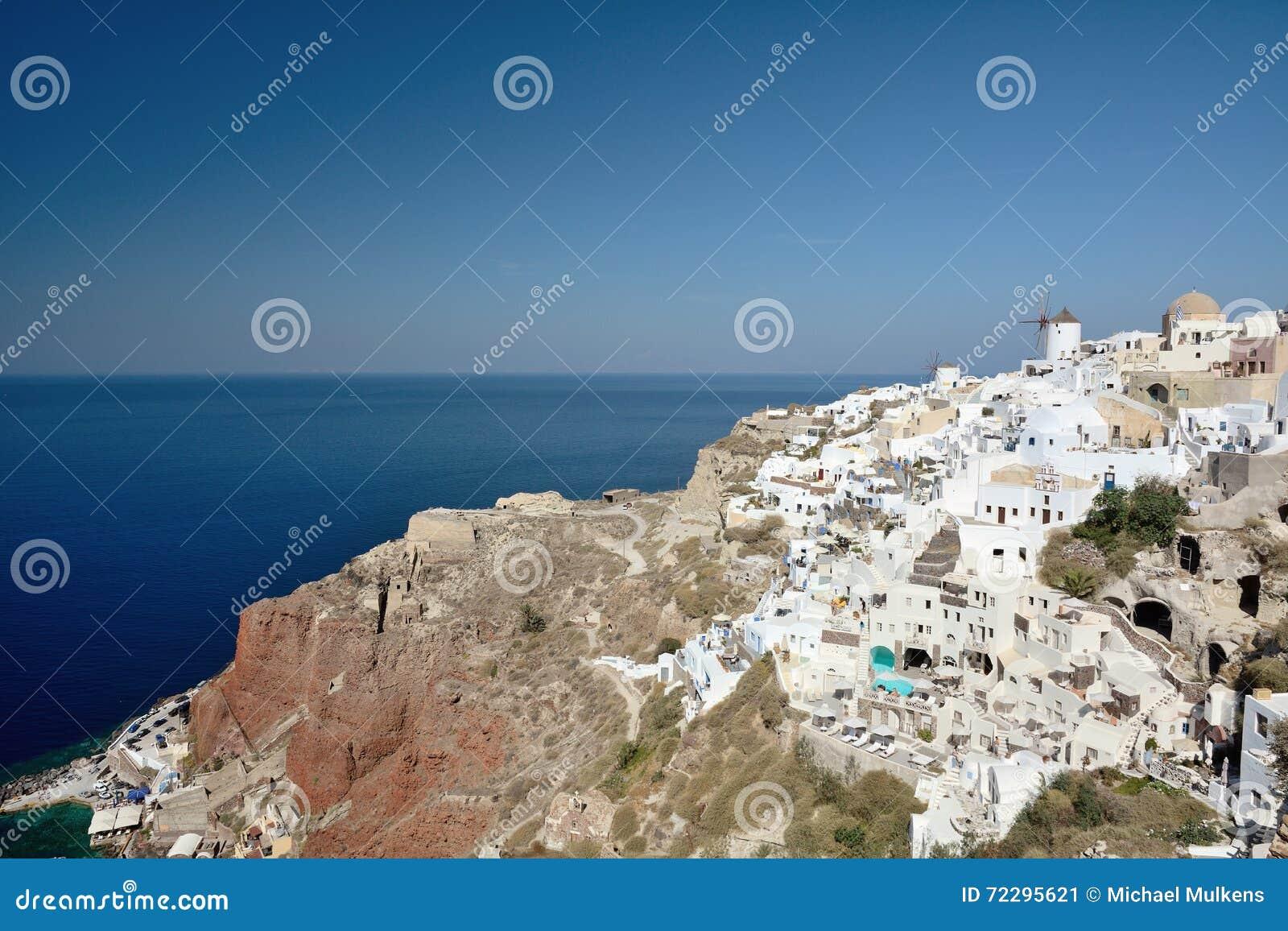 Download Santorini Греции редакционное фото. изображение насчитывающей athene - 72295621