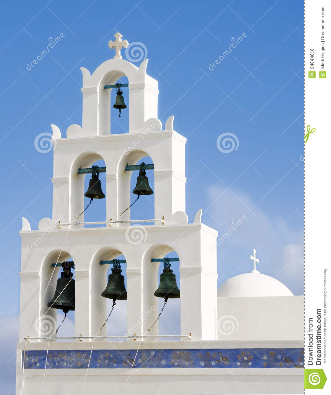 Santorini Building Greece Royalty Free Stock Image Image