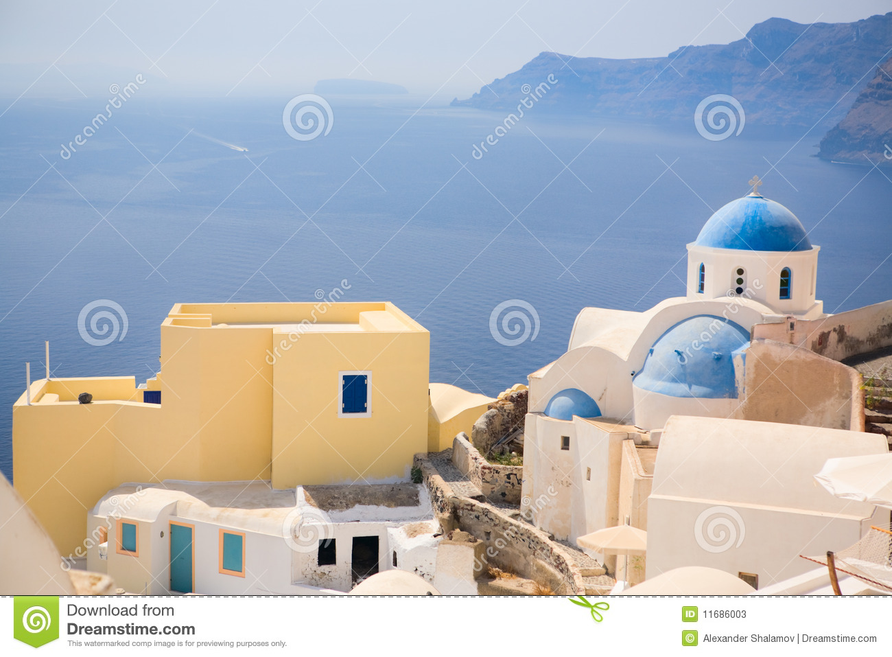 Santorini Church Stock Photos - Image: 11686003