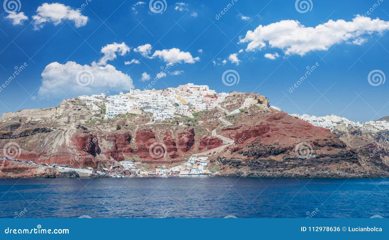 Santorini, Cyclades Islands, Greece.