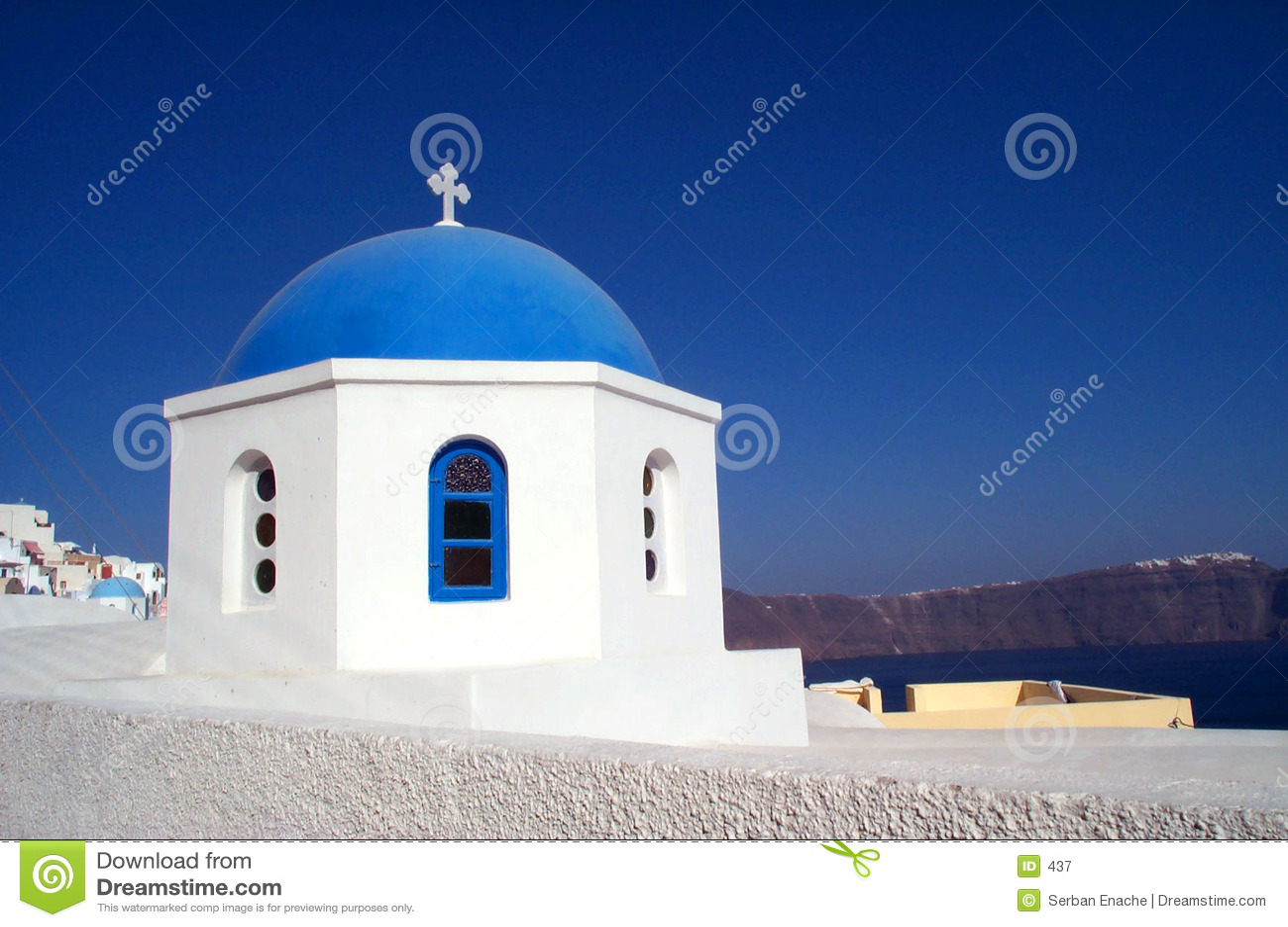 Santorini kościoła