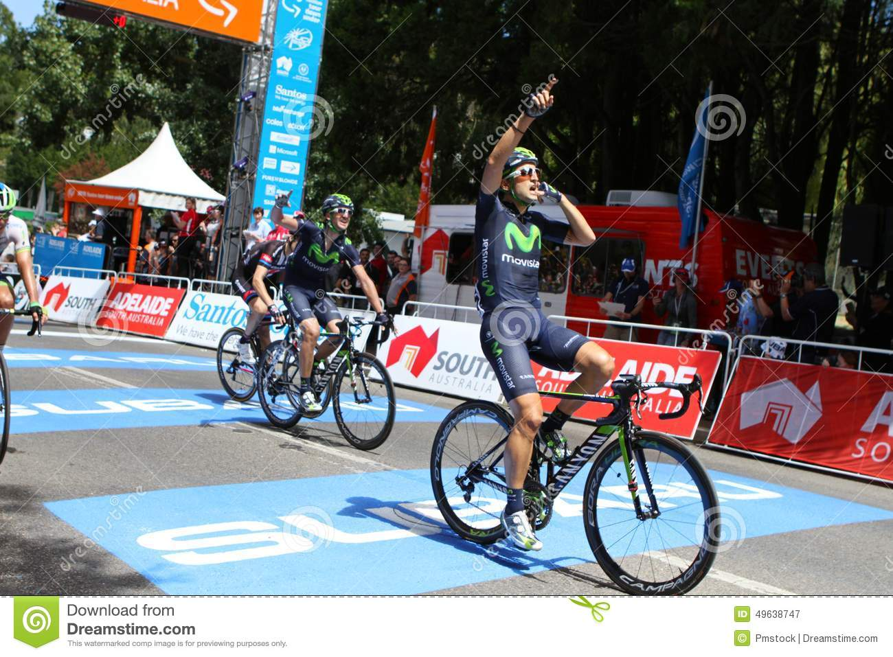 Santos Tour Down Under 2015 Editorial Photography - Image of ... 2fa0c6b25