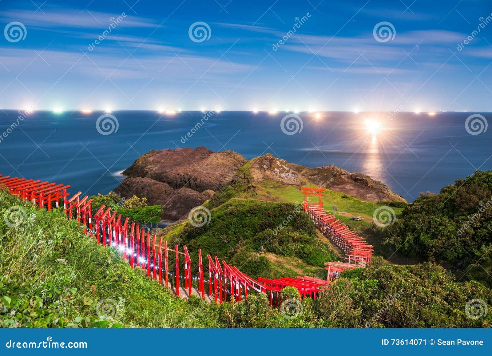 Santuário litoral em Japão