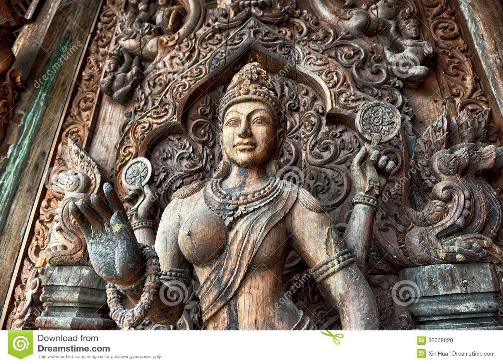 Santuario de la verdad, Pattaya