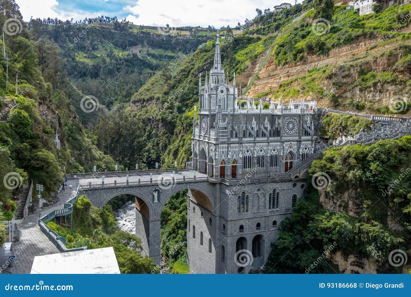 Santuario de Las Lajas - Ipiales, Colombia