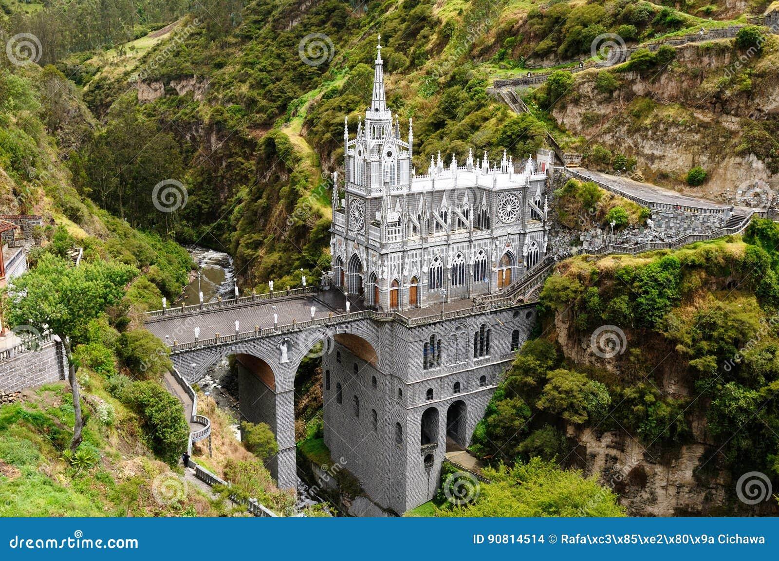 Santuario Las Lajas en Colombia
