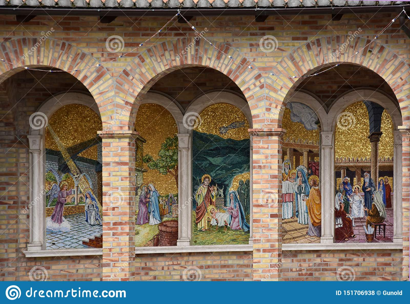 Santuario Madonna del esplendor en Giulianova