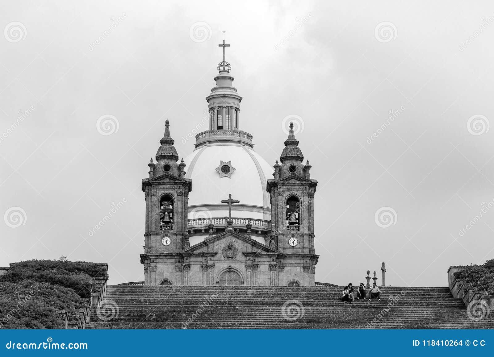 Santuary Nasz dama Sameiro, Braga, Portugalia