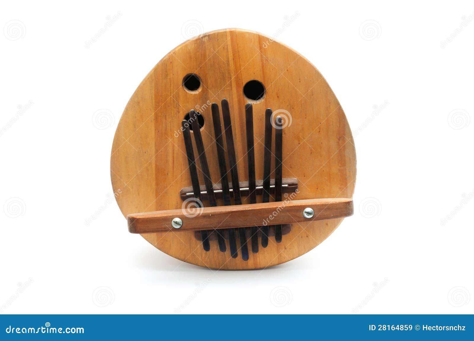 Sanza, Instrument De Musique Traditionnel Africain Images  ~ Instrument En Bois Africain