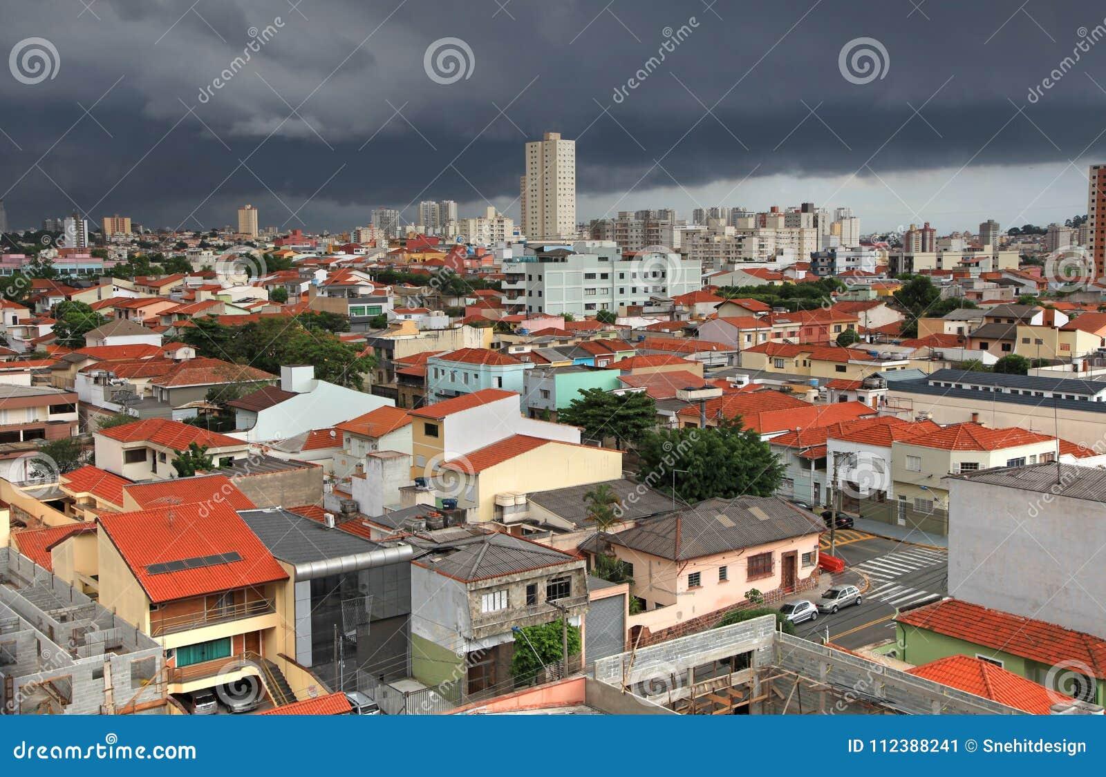 Sao Caetano Tun Sul Stadt In Brasilien Redaktionelles Foto Bild Von Buro Zieleinheit 112388241