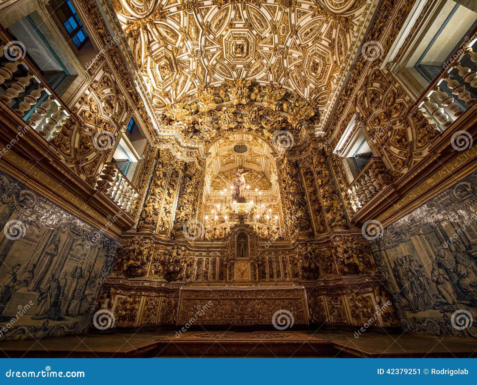 Sao francisco church and convent altar salvador da bahia for Baroque architecture examples