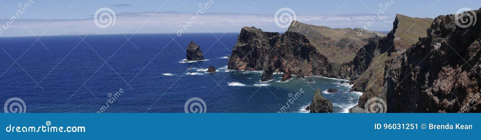 Sao Lourenco punkt dalszy punkt na wschodzie na wyspie madera