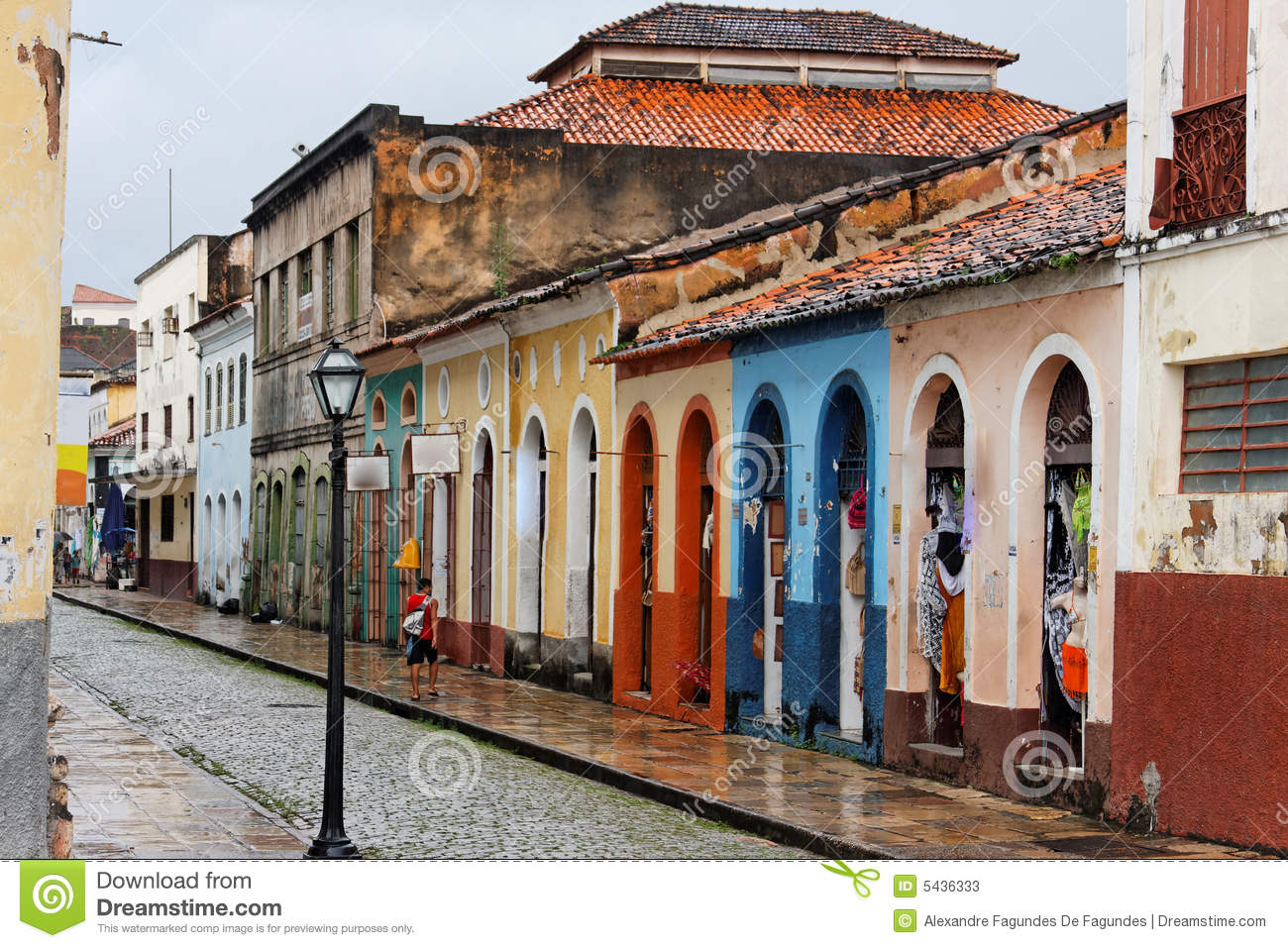 Sao Luis Do Maranhao Brazil Stock Photos