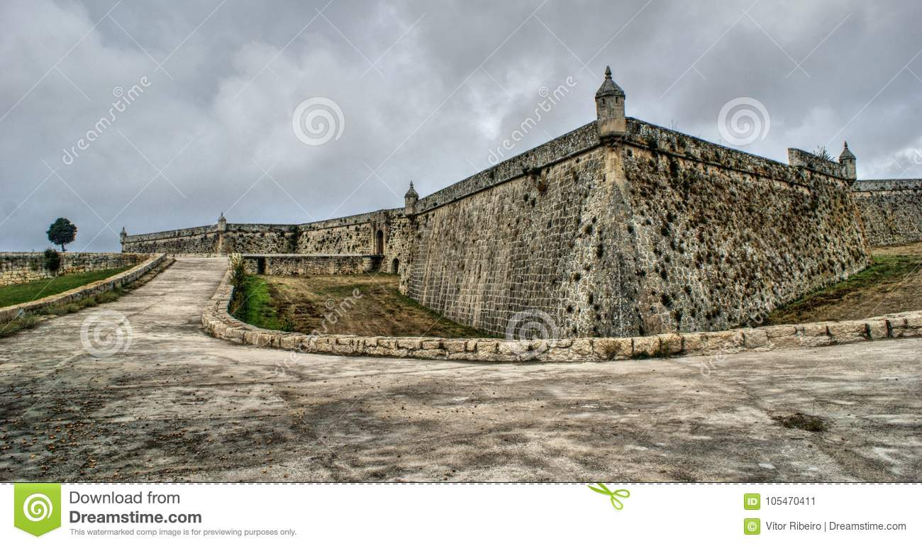 Sao Neutel Fortress in Chaves