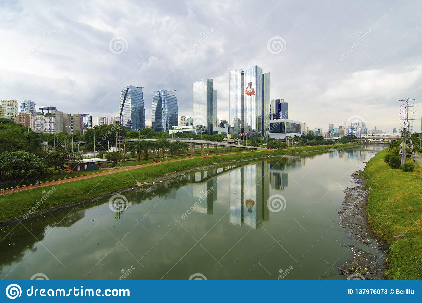 Sao Paulo-Ansicht