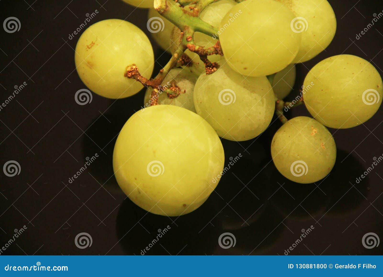 Sao Paulo Brazil för frukt för vitamin för grön druvamat läcker healthful åkerbruk