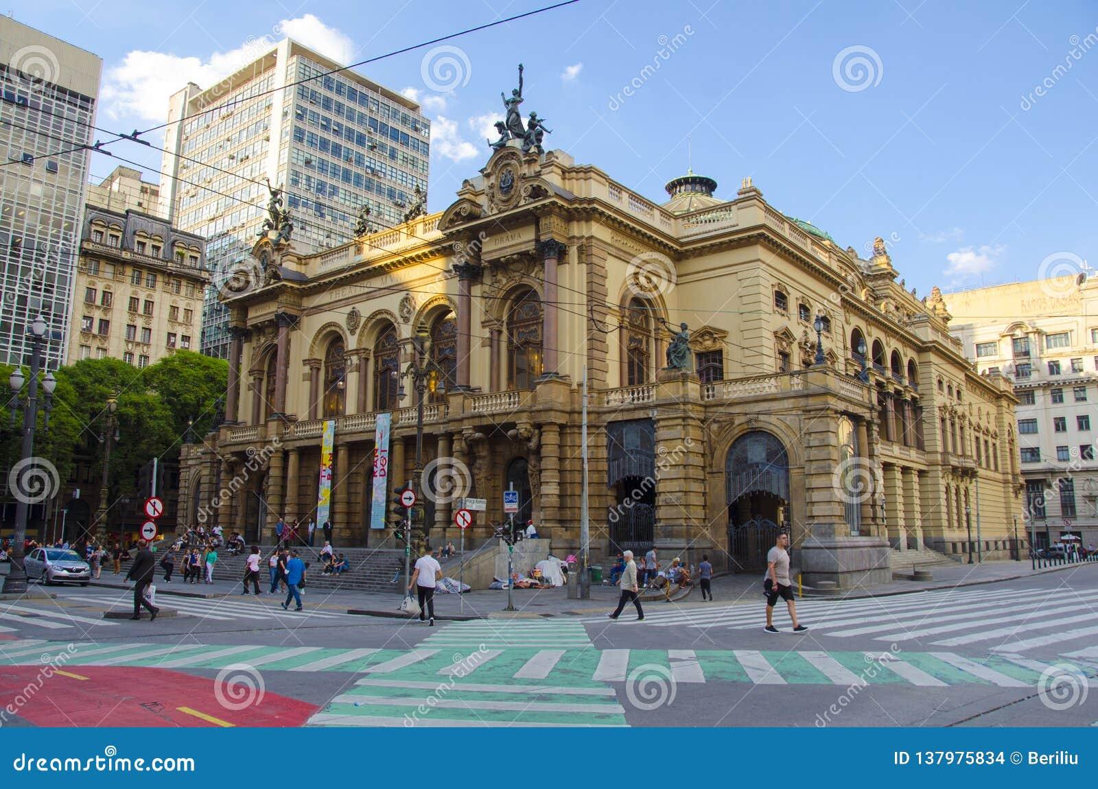 Sao Paulo Opera House