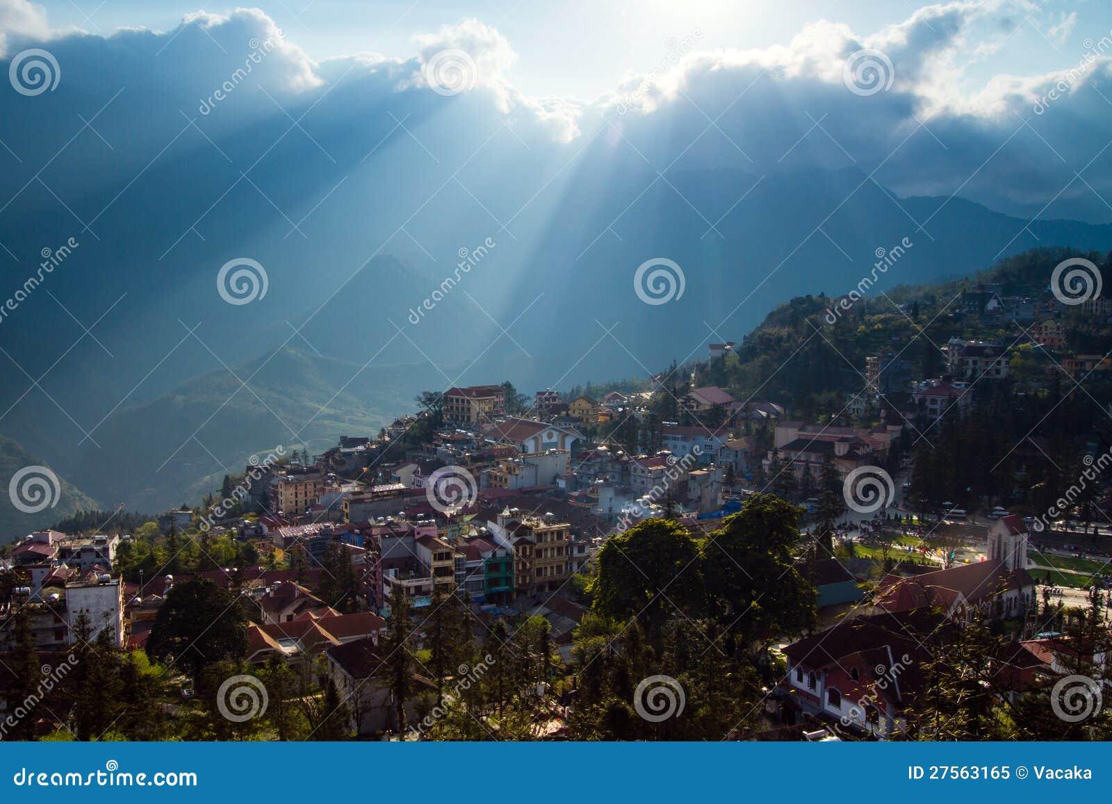 Sapa Stadt