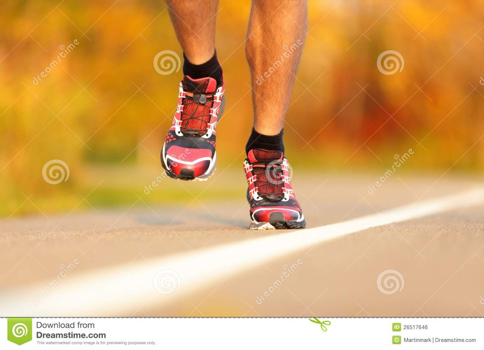 Sapatas running do atleta