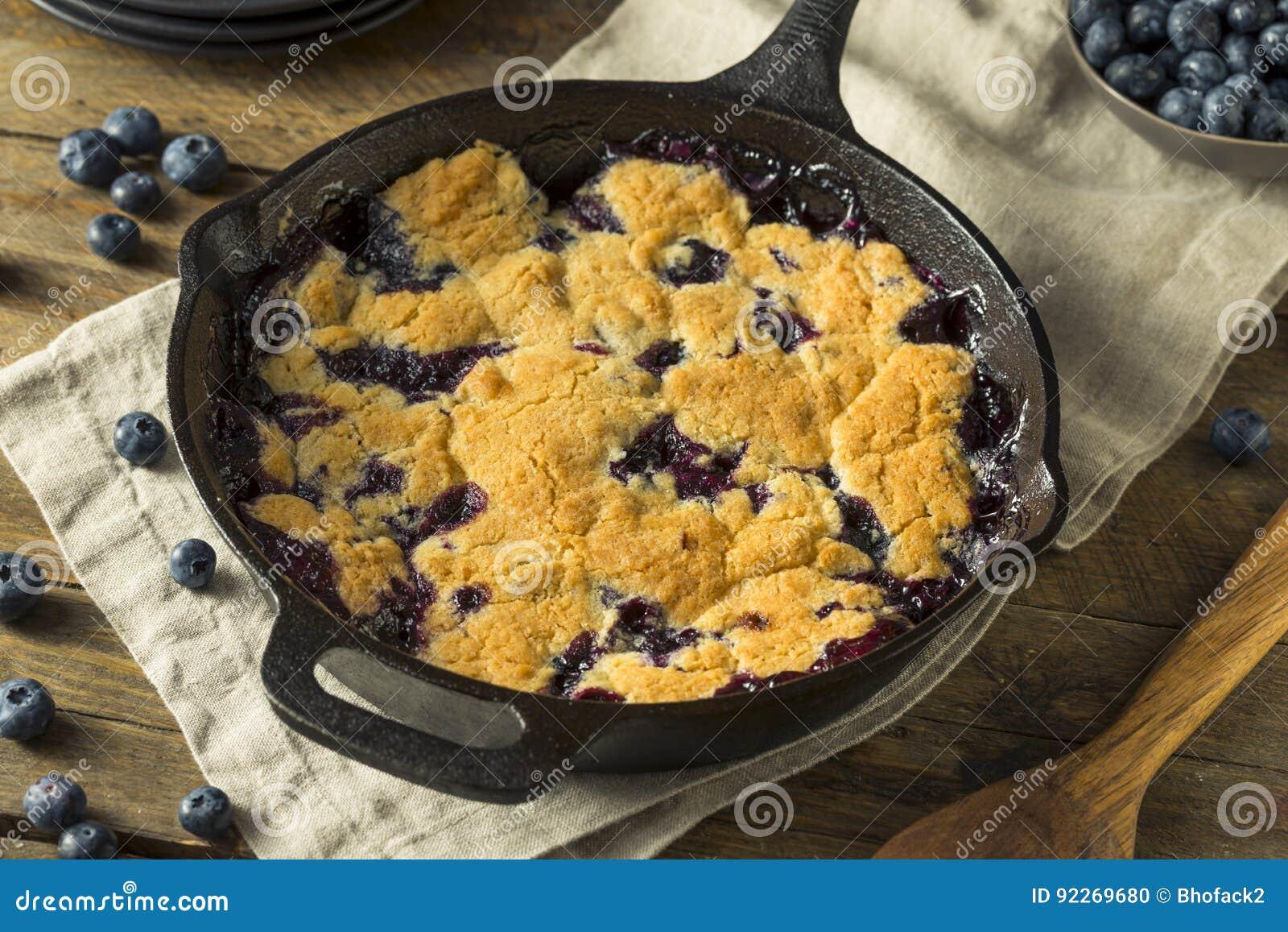 Sapateiro caseiro doce Dessert do mirtilo