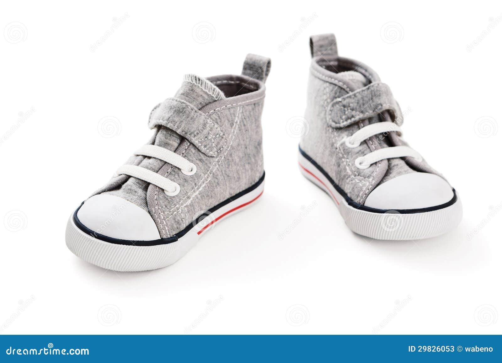 Sapatilhas do bebê