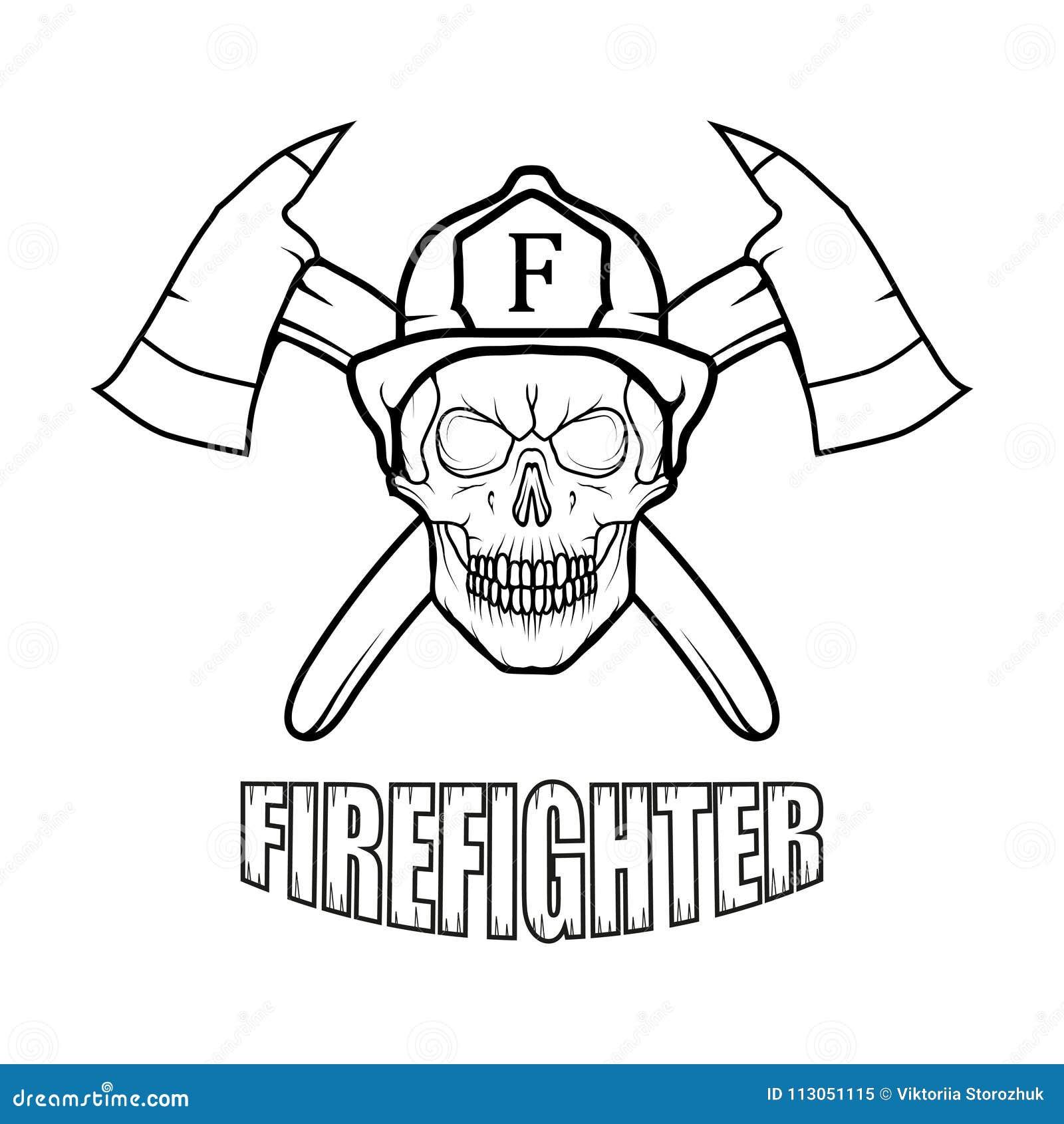 Sapeur-pompier Logo Nouveau Glasgow Fire Department