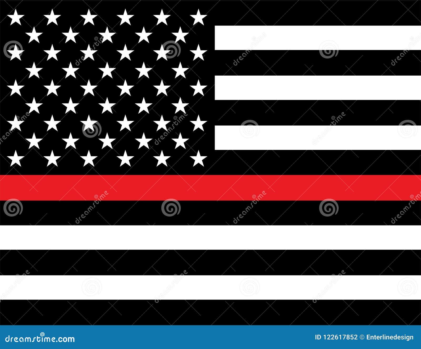 Sapeur-pompier Support Flag
