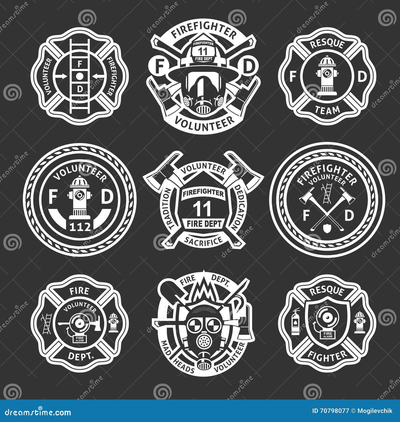 Sapeur-pompier White Label Set