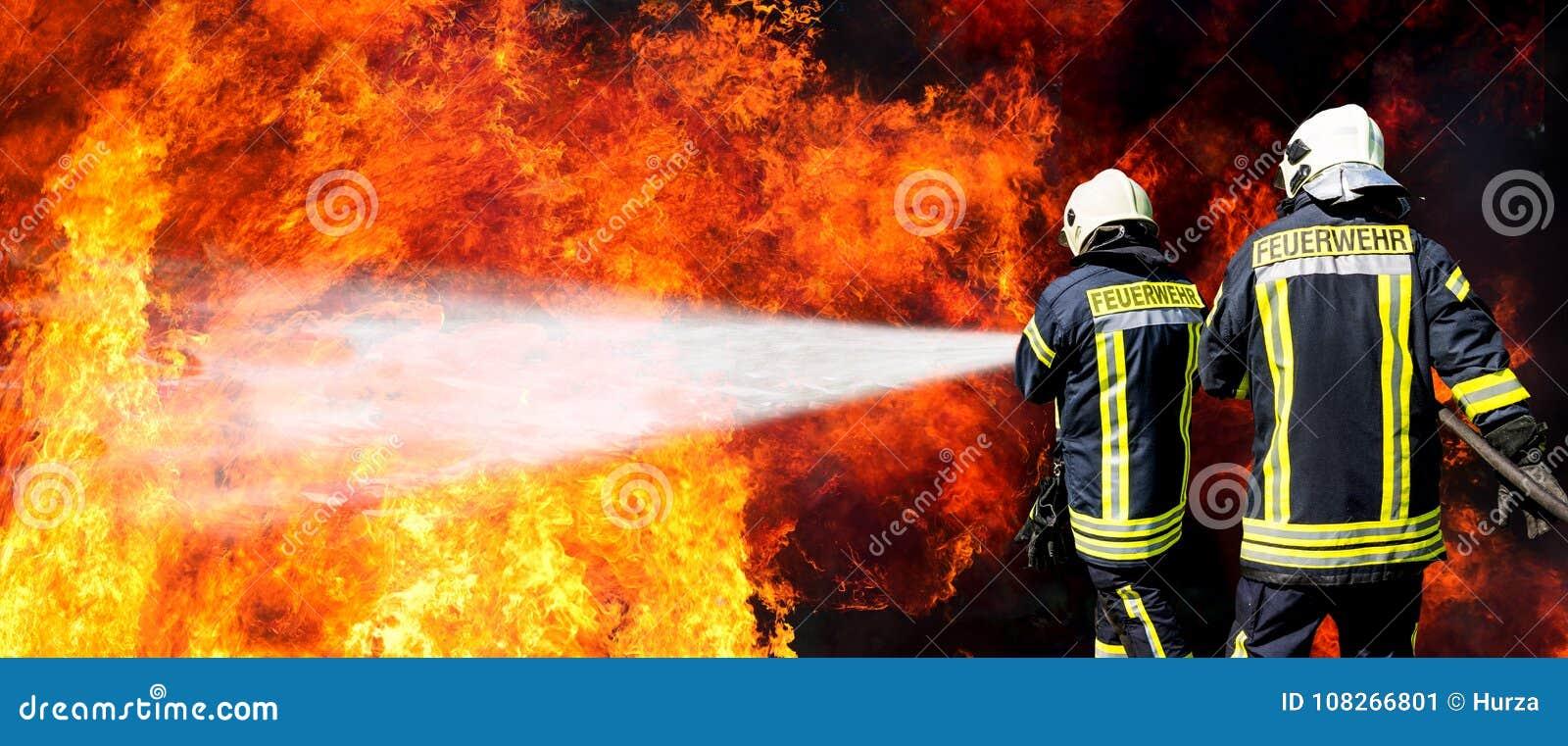 Sapeurs-pompiers allemands