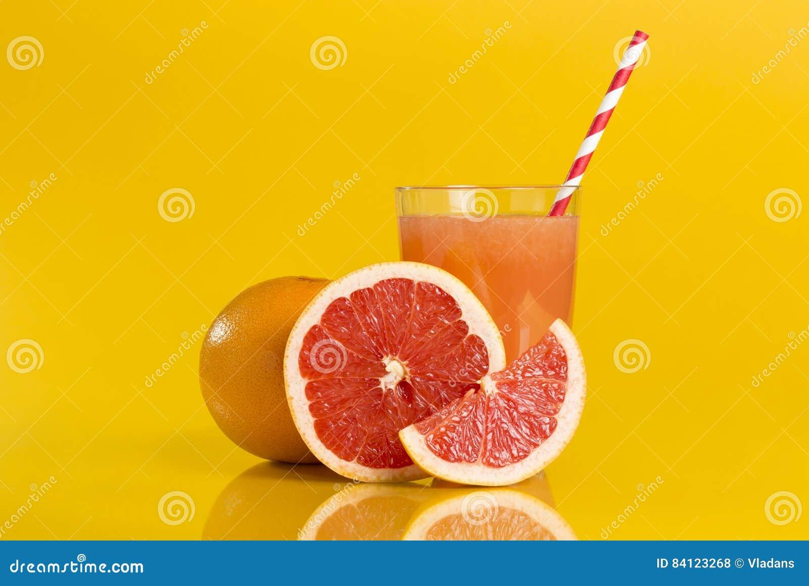Sappige grapefruit