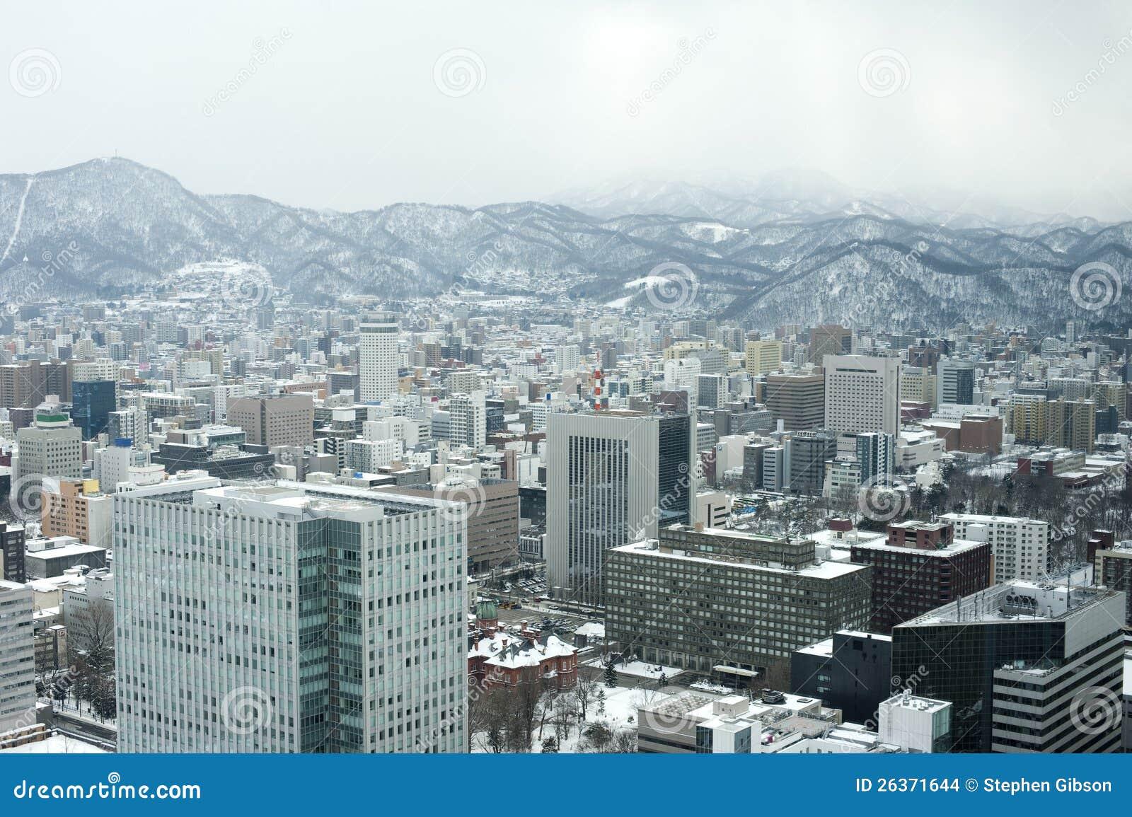 Sapporo im Winter
