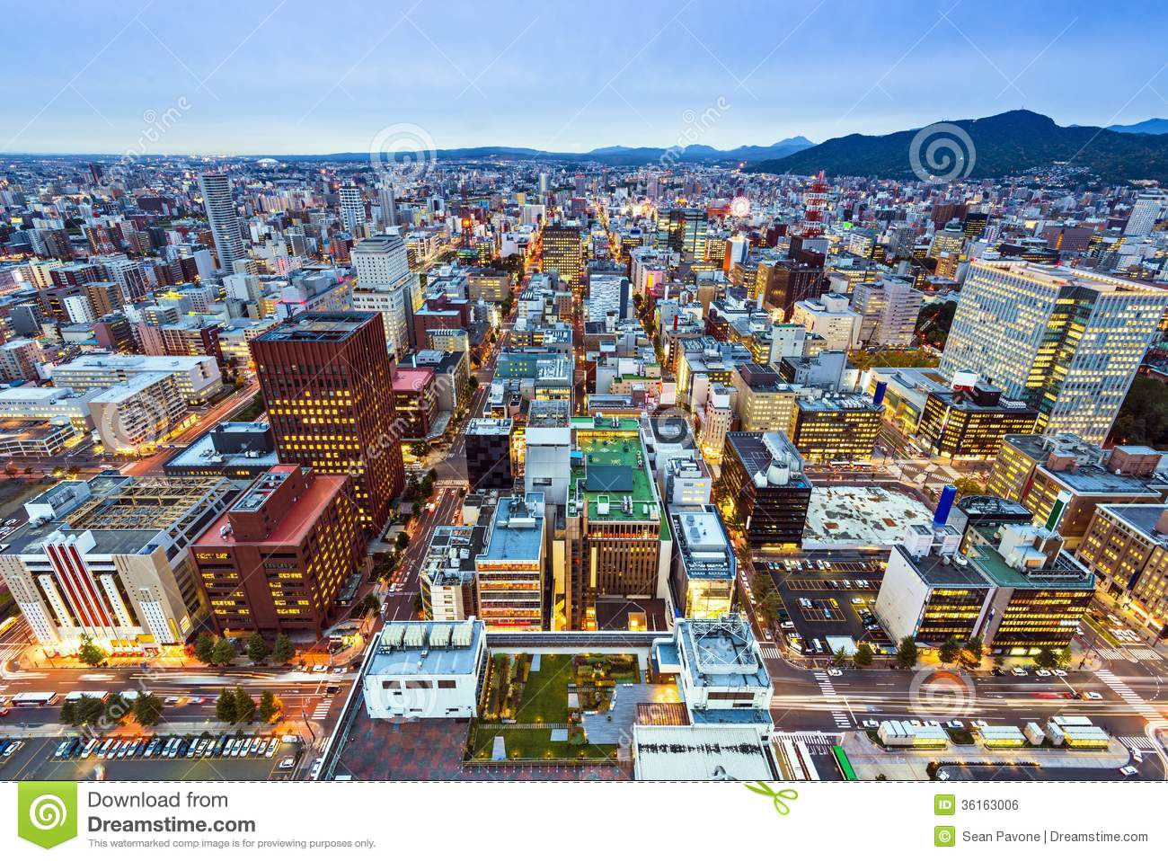 Sapporo Japan Royalty Free Stock Image - Image: 36163006