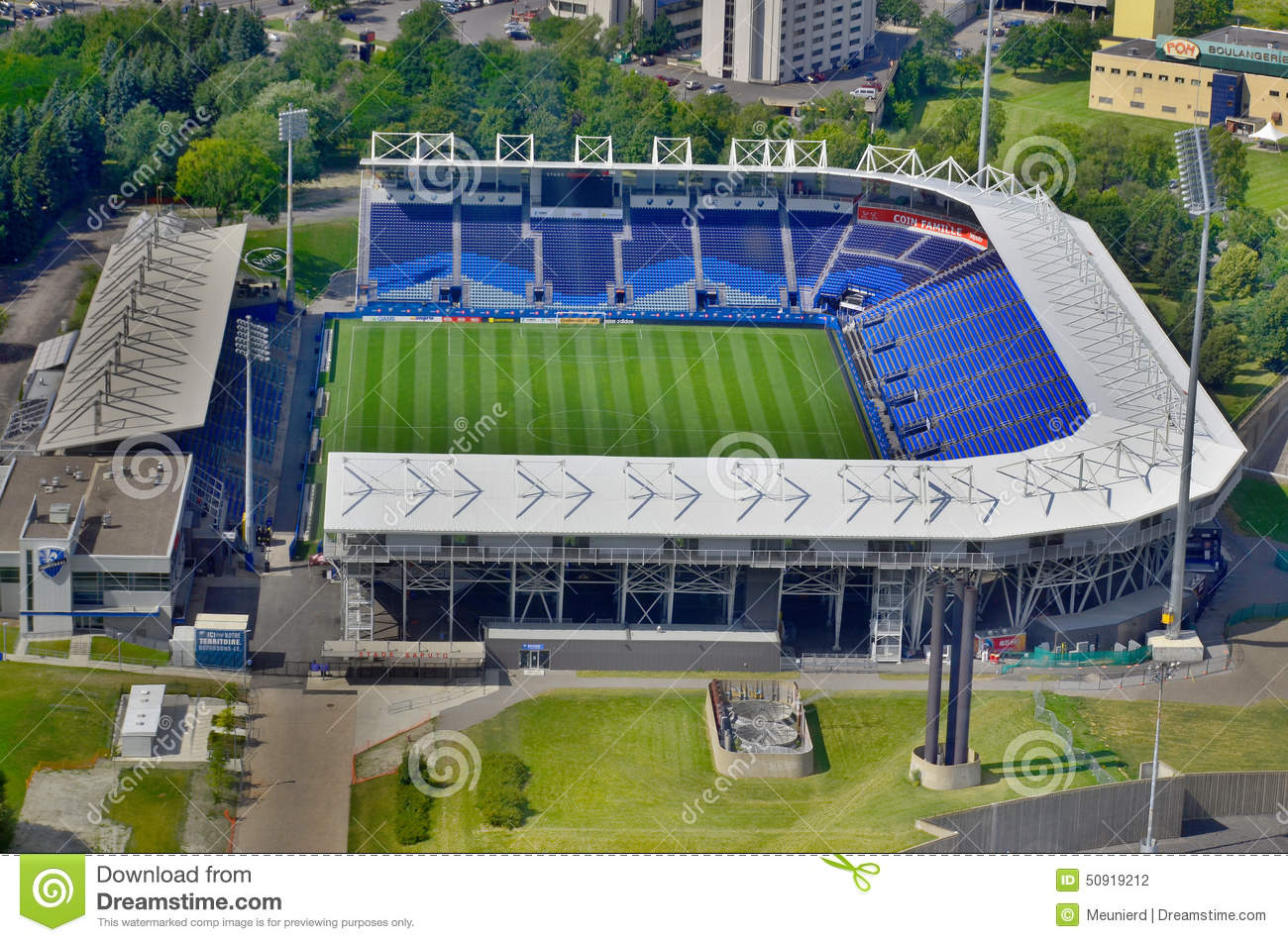 ... 11 2013: Saputo stadium home of the Canadian professional soccer